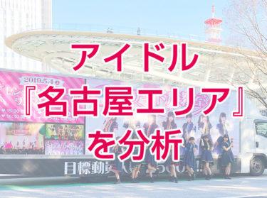 2021年【名古屋エリア人気アイドル】の考察 サブカル色の強い独自路線が武器
